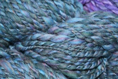 Handspun merino yarn